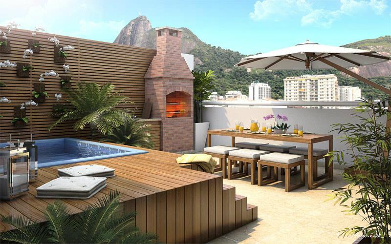 Condomínio Edifício Concept Living Boutique - Rua Pinheiro Guimarães ... ce4c6f4294682